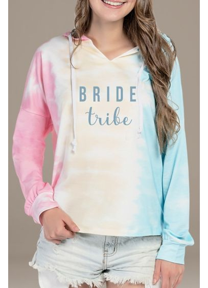 Bride Tribe Tie Dye Sweatshirt - A cozy choice for the bachelorette getaway weekend,