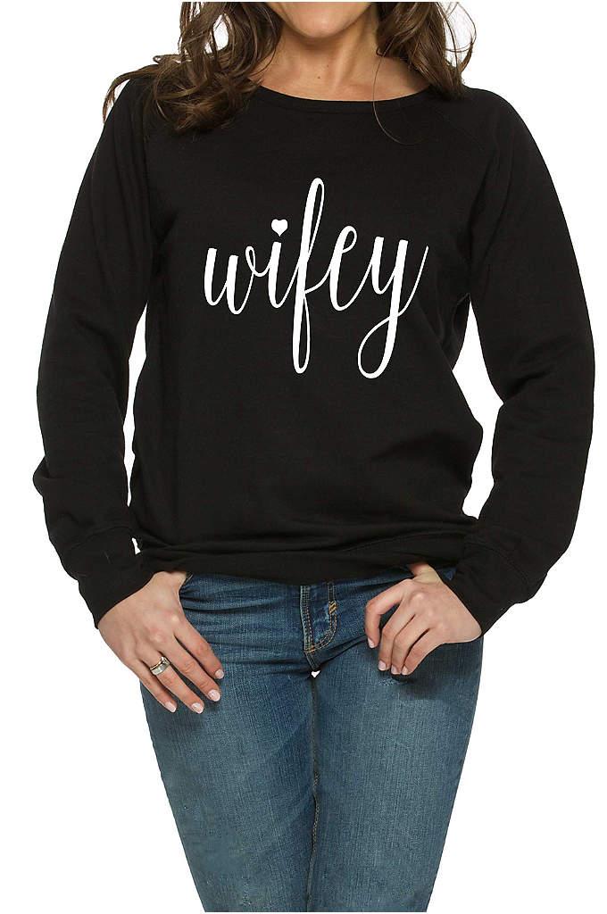 Wifey Sweatshirt - This super soft Wifey sweatshirt is the perfect