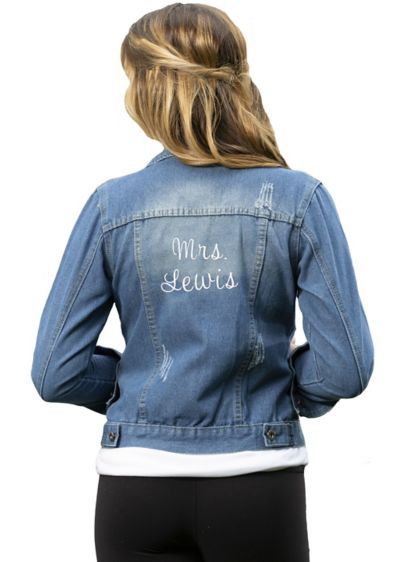 Blue (Personalized Denim Jacket)