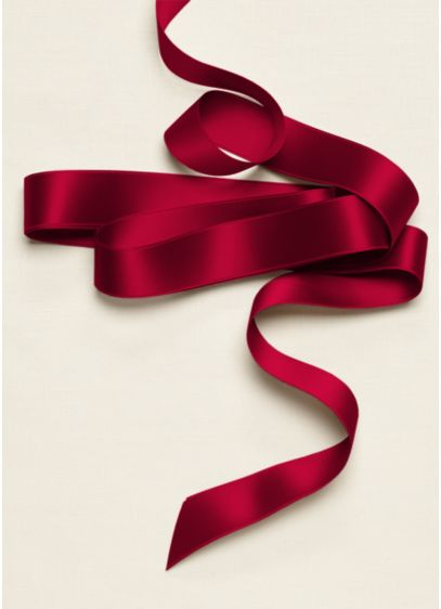 Classic Satin 1 inch Sash - This classic 1-inch satin ribbon adds color to