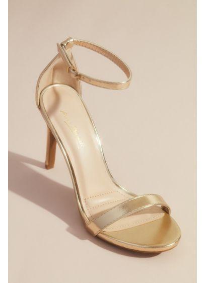 Anne Michelle Beige (Strappy High Stiletto Sandals)