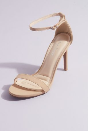 Anne Michelle Beige;Grey;White;Yellow Heeled Sandals (Strappy High Stiletto Sandals)