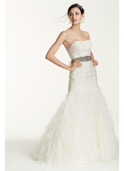 Long Mermaid / Trumpet Formal Wedding Dress - Galina Signature