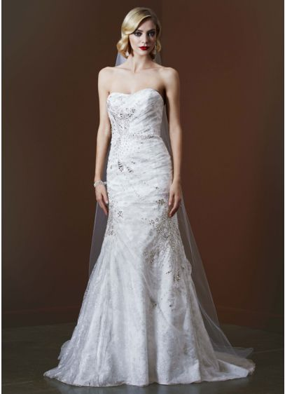 Long Mermaid/ Trumpet Simple Wedding Dress - Galina Signature