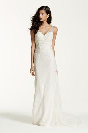 Long White Sheath Dresses