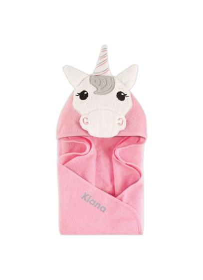 Unicorn Animal Face Hooded Towel - This hooded baby towel is not only cute