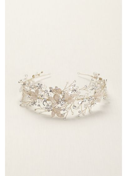 Moldable Crystal Embellished Tiara - Wedding Accessories
