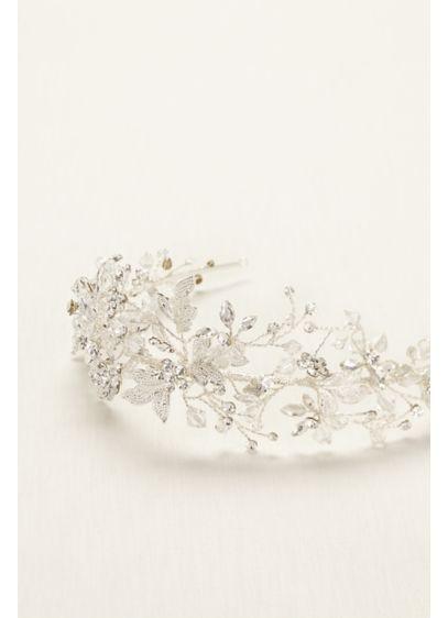 Moldable Crystal Embellished Tiara - Wedding Accessories