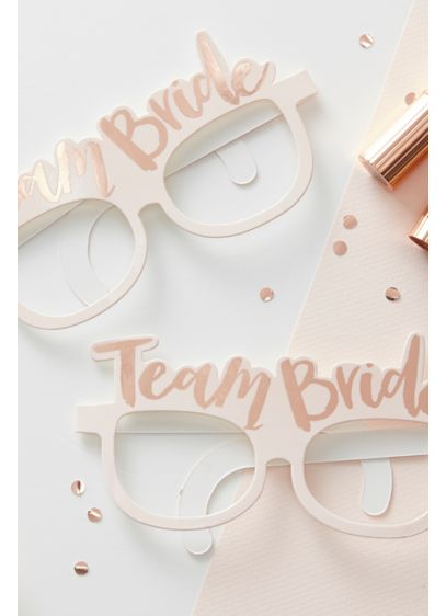 Team Bride Glasses Set of 8 - Have endless fun celebrating the Bride-to-be with these