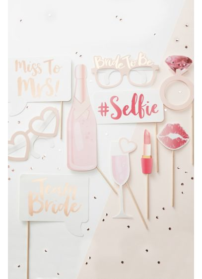 Bachelorette Photobooth Props - Wedding Gifts & Decorations