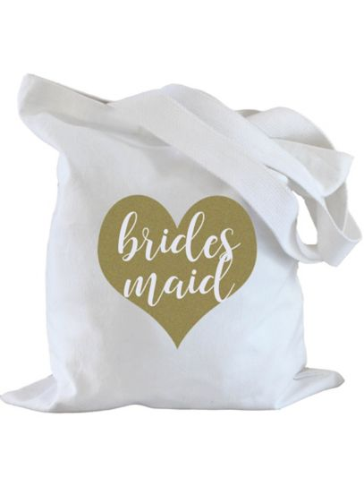 Bridesmaid Heart Tote Bag - Wedding Gifts & Decorations