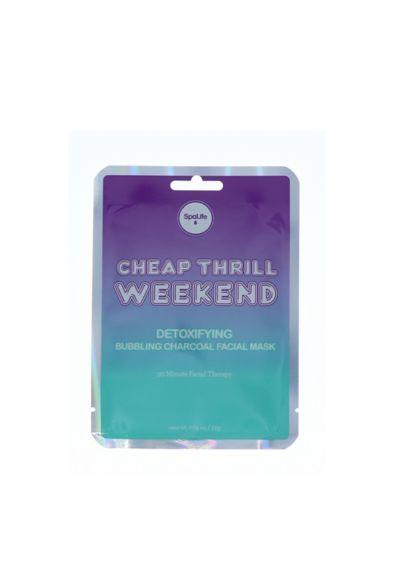 Cheap Thrill Weekend Detoxifying Facial Sheet Mask - Wedding Gifts & Decorations