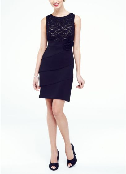 Short Sheath Tank Cocktail and Party Dress - Connected Apparel