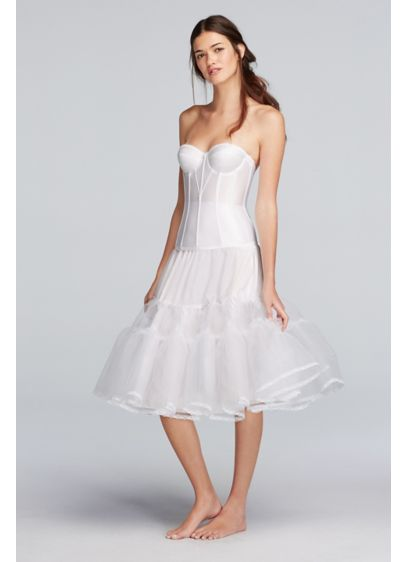 Tea Length Slip - Wedding Accessories