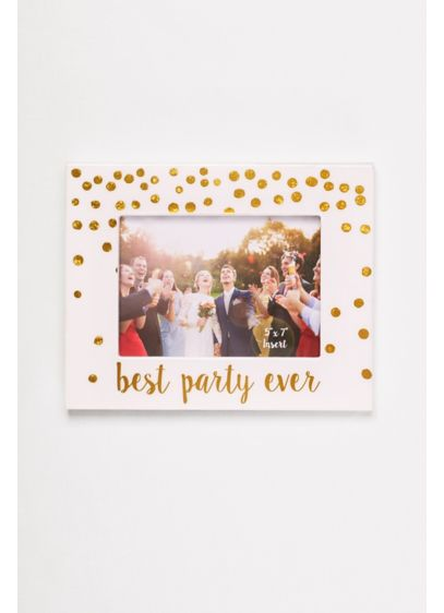 Best Party Ever Picture Frame - Wedding Gifts & Decorations