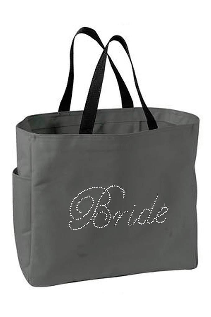Rhinestone Bride Tote Bag