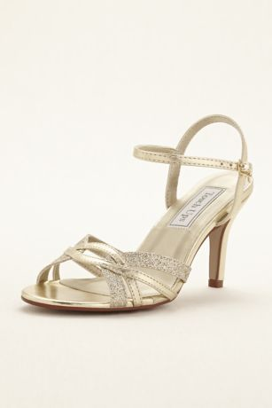 Touch Ups Grey;Yellow Sandals (Taryn Strappy Sandal by Touch Ups)