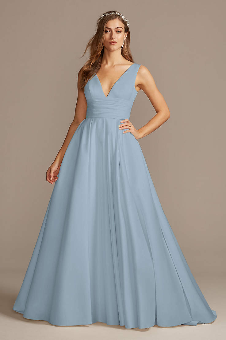 Blue Wedding Dresses And Gowns David S Bridal
