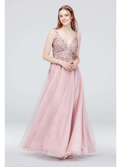 Long Ballgown Tank Cocktail and Party Dress -