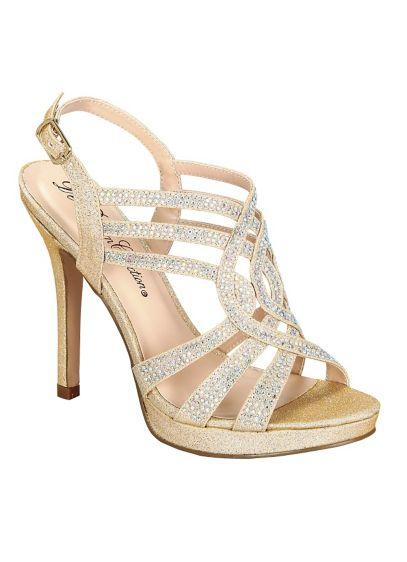 41fed5fcae2 Blossom Beige (Blossom Strappy Crystal Platform Sandal)