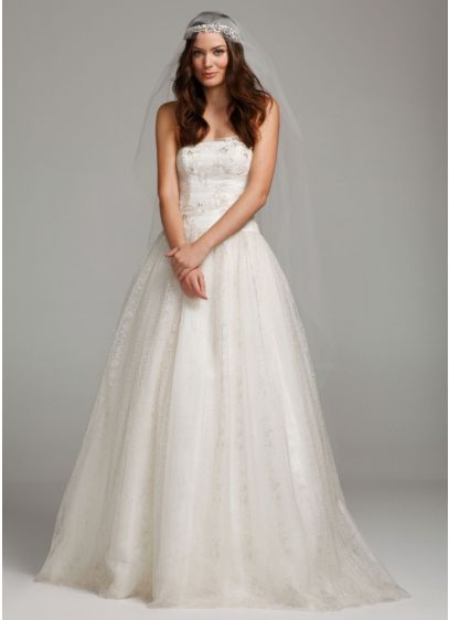 Melissa Sweet Cathedral Juliet Cap Veil | David\'s Bridal