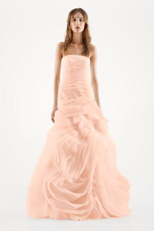 Vera Wang Pink Wedding Dress