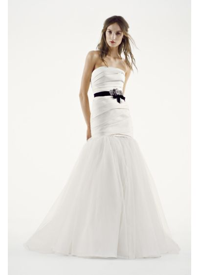 Fit And Flare Wedding Dress.White By Vera Wang Fit And Flare Wedding Dress