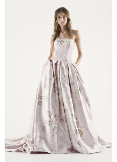 Long Ballgown Formal Wedding Dress White By Vera