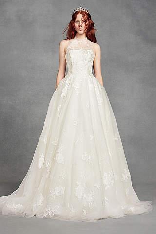 Vestido de Novia Floral de White by Vera Wang