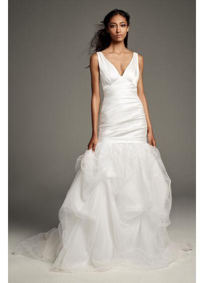 d607d9eb3ae Long Mermaid  Trumpet Formal Wedding Dress - White by Vera Wang