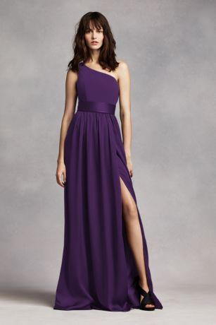 Sheath One Shoulder Long Dress