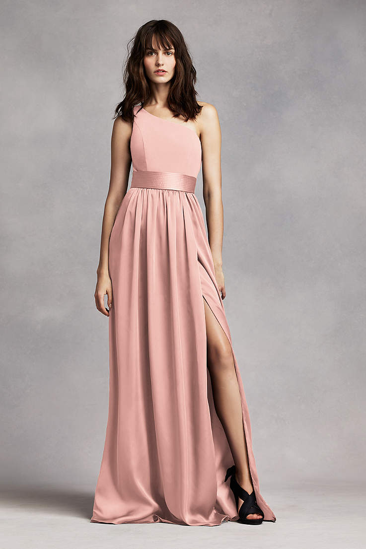 f30f791e851 Blush Bridesmaid Dresses - Blush Pink Colored Dresses | David's Bridal