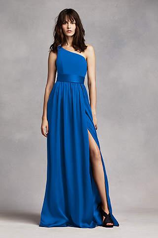 Blue Bridesmaid Dresses: Pale & Dark Blue   David\'s Bridal