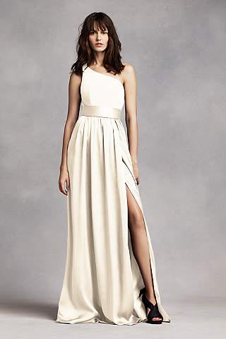 Ivory Bridesmaid Dresses: Short & Long Styles | David\'s Bridal