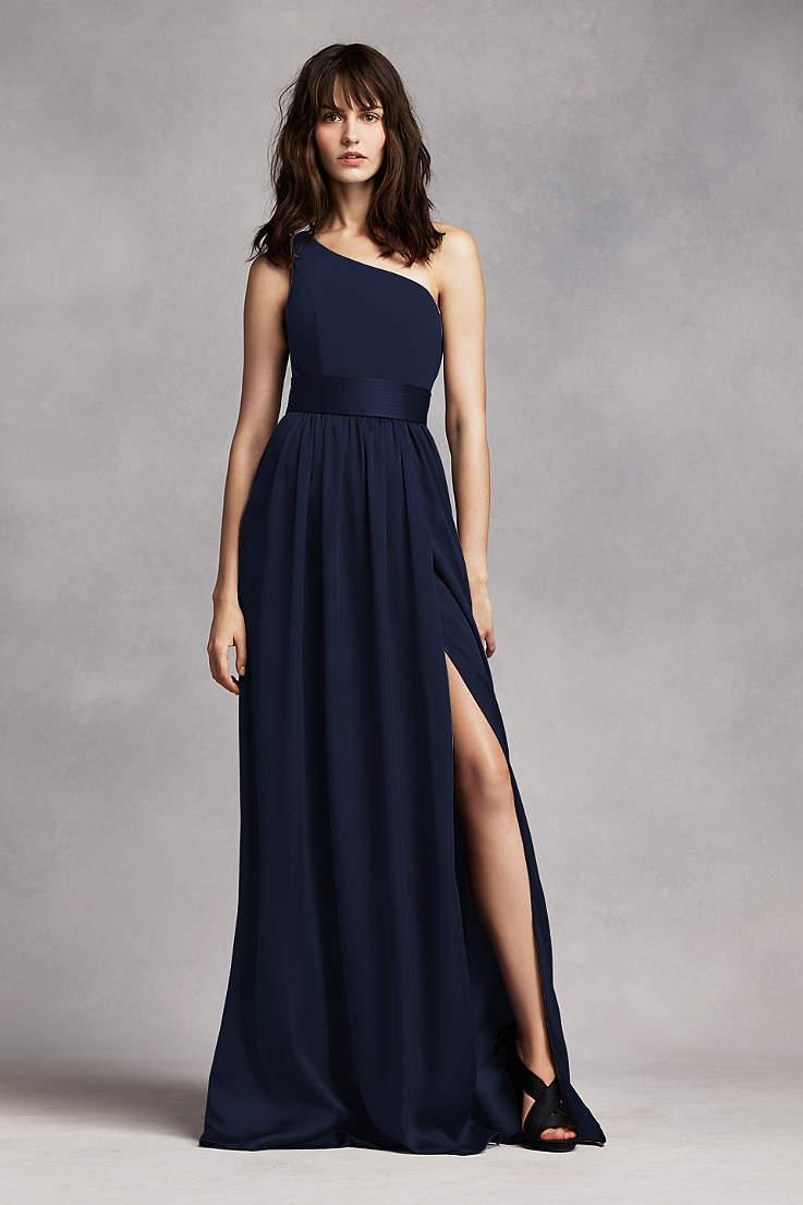 bae8618a4ac6 Navy Blue Bridesmaid Dresses for Weddings   David's Bridal
