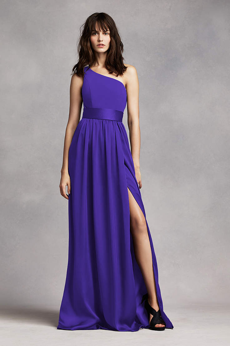Royal Purple Bridesmaid Dresses