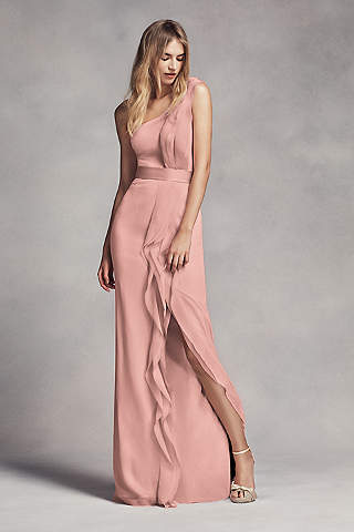 Pink Bridesmaid Dresses: Dusty & Light Pink   David\'s Bridal