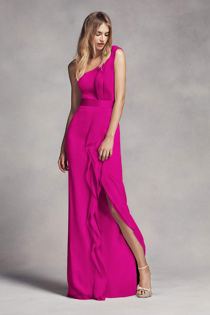 d5caeb6a697 Pink Prom Dresses: Blush, Light & Hot Pink Gowns | David's Bridal