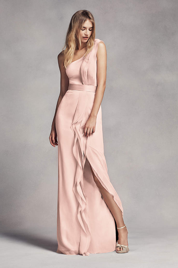 69619fd2761 Blush Bridesmaid Dresses - Blush Pink Colored Dresses