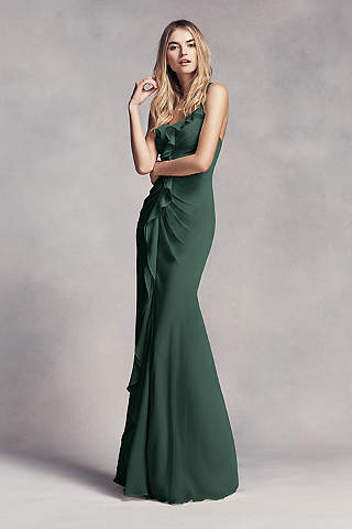 Image result for crepe bottle green gown