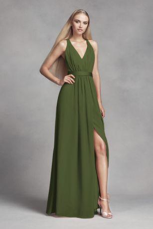 Olive Green Bridesmaid Dresses Davids Bridal
