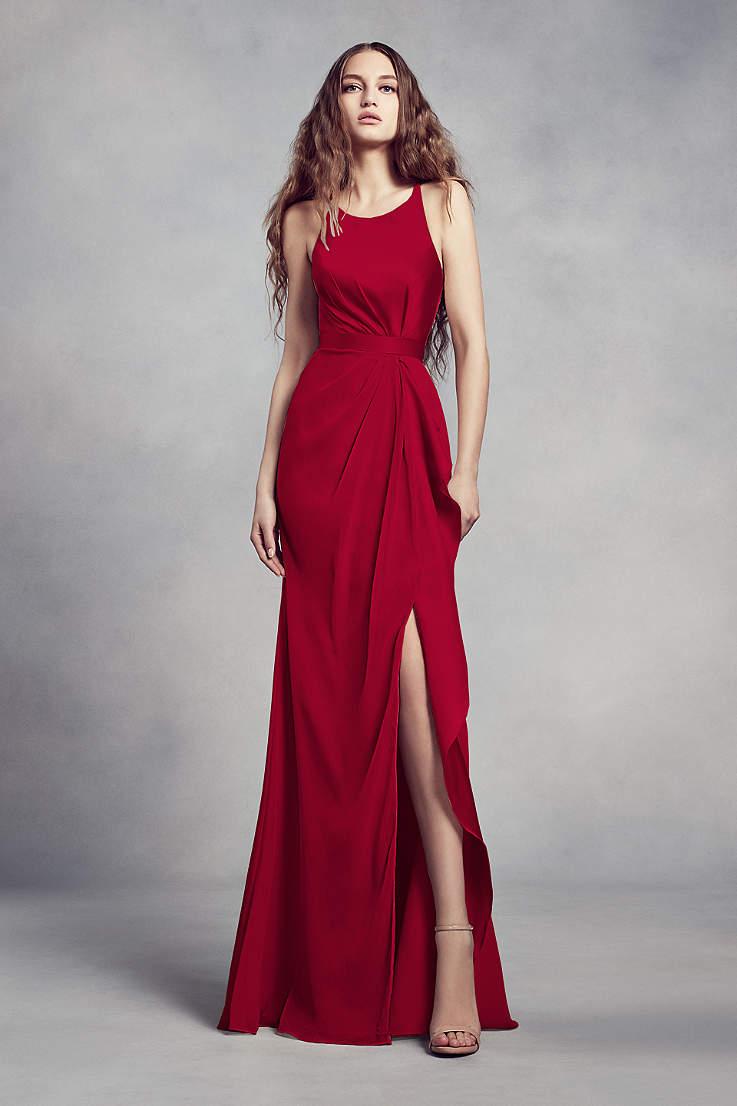 b5437a419928 Red Bridesmaid Dresses