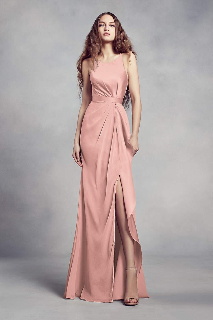 b1c37c19465e5 Blush Bridesmaid Dresses - Blush Pink Colored Dresses | David's Bridal