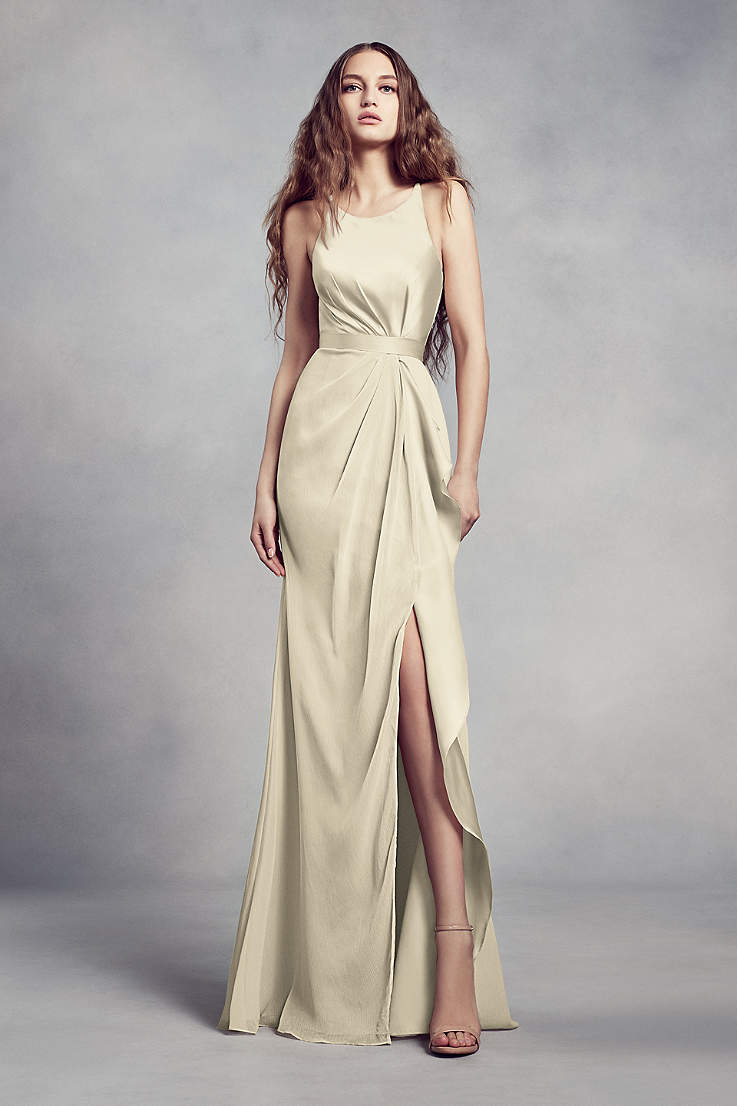 e1dffe1ee751 Champagne Colored Bridesmaid Dresses | David's Bridal