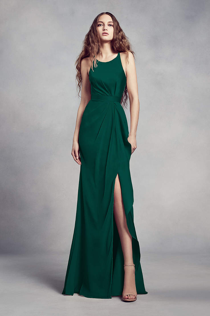 Green Bridesmaid Dresses Emerald Forest Mint Gowns David S