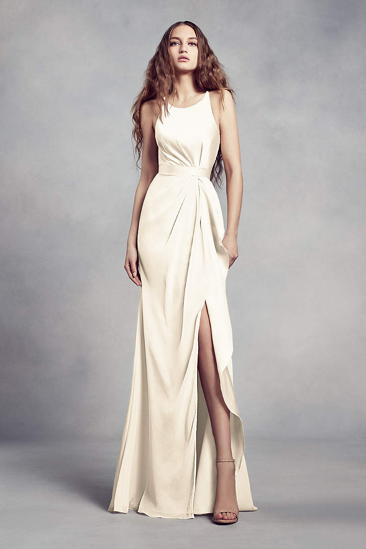 e0650ff0b641 Ivory Bridesmaid Dresses - Cream & Off White Gowns | David's Bridal