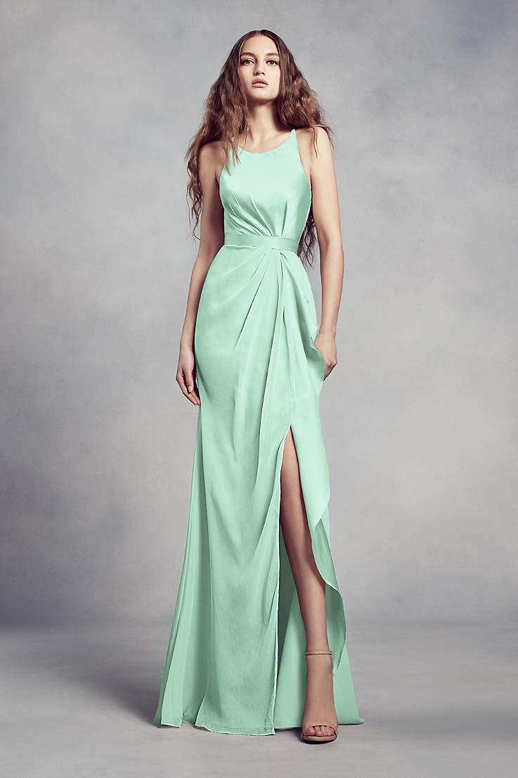 dd277d0f15556 Mint Green Bridesmaid Dresses Gowns David S Bridal
