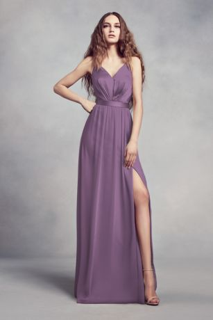 12c6303738805 Soft   Flowy Structured Long Bridesmaid Dress