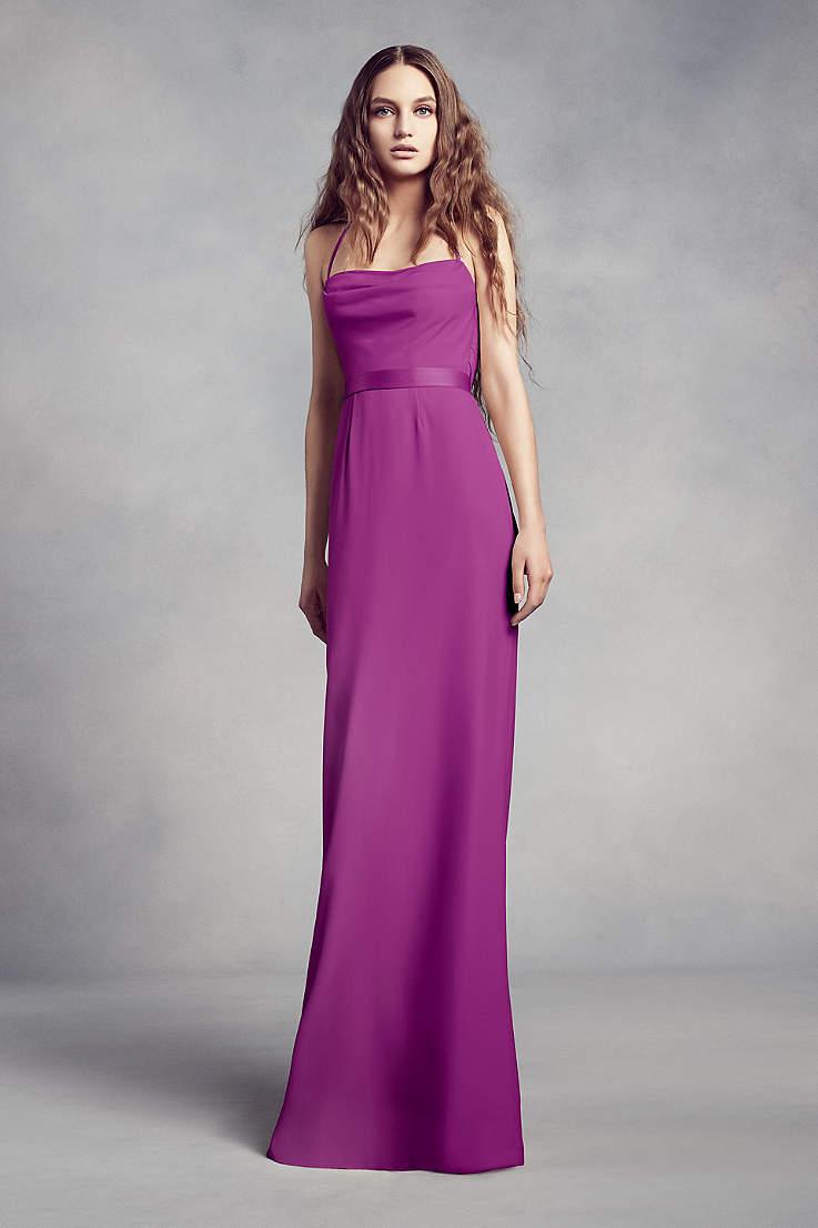 9754f5266f80 Purple Bridesmaid Dresses: Light & Dark Colors | David's Bridal