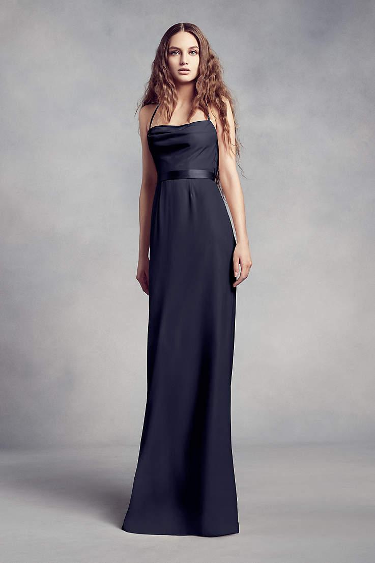 c61b37f01899c Navy Blue Bridesmaid Dresses for Weddings | David's Bridal